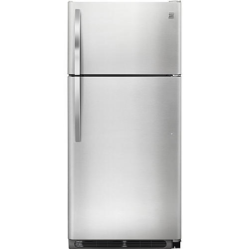 Kenmore 70603  18 cu. ft. Top Freezer Refrigerator - Stainless Steel