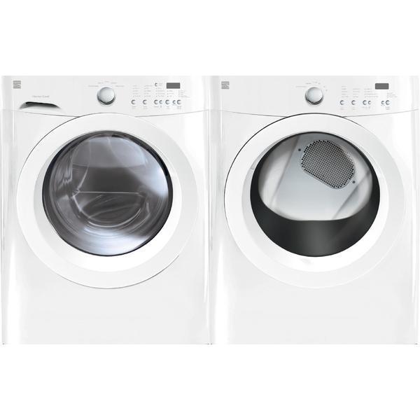Kenmore 3.9 cu. ft. Front-Load Washer & 7.0 cu. ft. Dryer Bundle