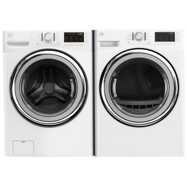 Kenmore 4.5 cu. ft. Front-Load Washer w/Accela Wash® & 7.4 cu. ft. Dryer - White