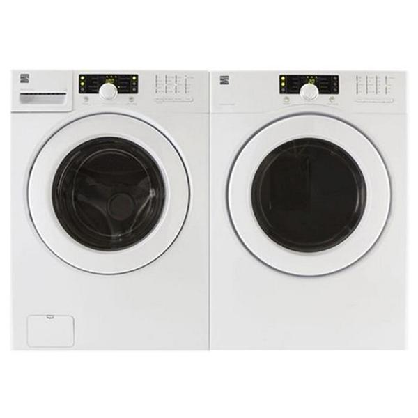 Kenmore ENERGY STAR® Front-Load Washer and Electric Dryer Set with Steel Washer Basket