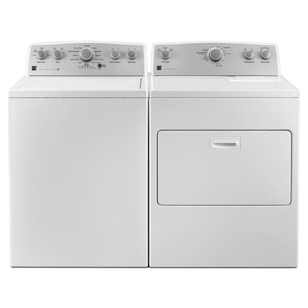 Kenmore 4.3 cu. ft. Top Load Washer & 7.0 cu. ft. Gas Dryer