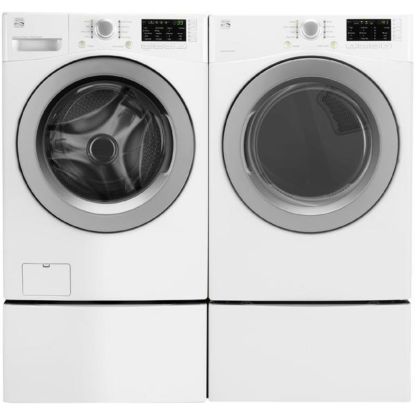 Kenmore 4.5 cu. ft. Front-Load Washer & 7.3 cu. ft. Electric Dryer w/ Sensor Dry