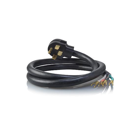 Kenmore 15009 4-Prong 5\' Round Range Cord - Black | Kenmore
