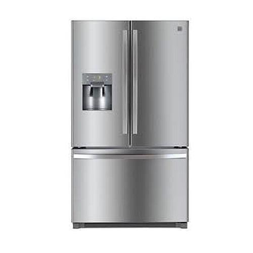 Kenmore 111.73045 25.6 CuFt Stainless steel French Refrigerator