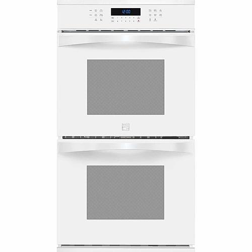 "Kenmore Elite 48442  27"" Electric Double Wall Oven w/ True Convection™ - White"
