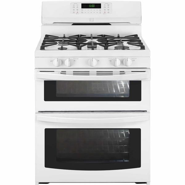 Kenmore 78042  5.9 cu. ft. Double-Oven Gas Range - White