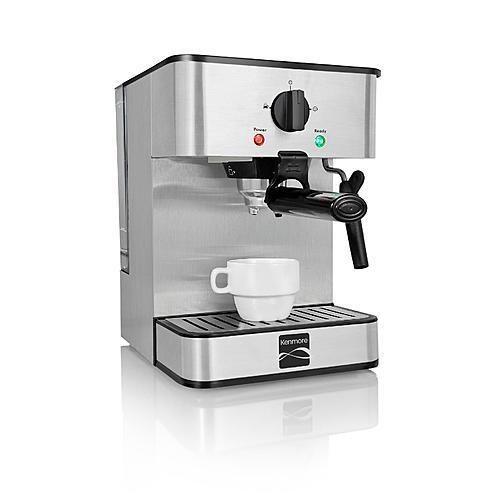 Kenmore 235109 15 Bar Espresso Maker