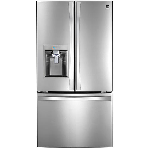 Kenmore Elite 74093  31.7 cu.ft. Super Capacity French Door Bottom-Freezer Refrigerator - Stainless Steel