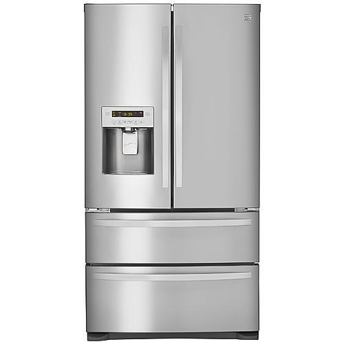 Kenmore 72493  26.7 cu. ft. 4-Door French Door Refrigerator – Stainless Steel