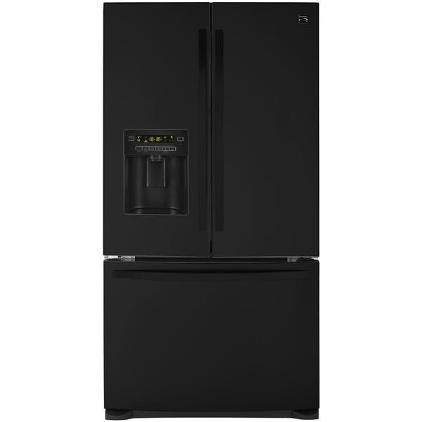 Kenmore 73059  26.8 Cu. Ft. French Door Bottom-Freezer Refrigerator - Black