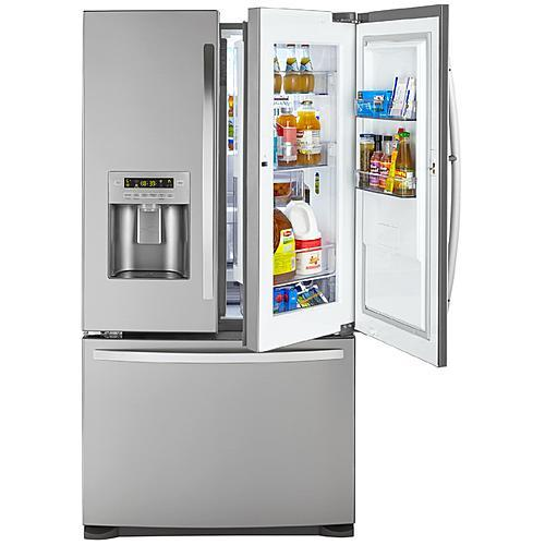 Kenmore 73065  26.6 cu. ft. French Door Refrigerator with Bottom Freezer - Fingerprint Resistant Stainless Steel