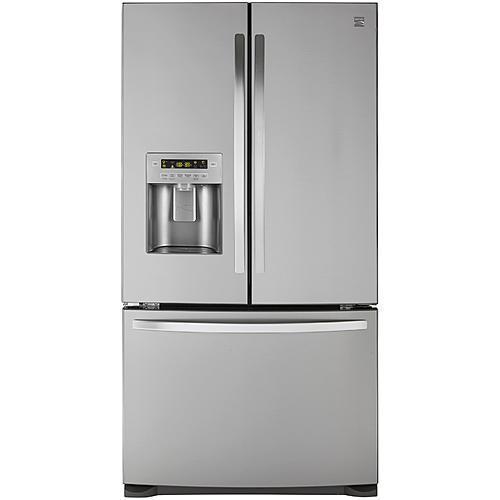 Kenmore 73055  26.8 cu. ft. French Door Bottom-Freezer Refrigerator - Fingerprint Resistant Stainless Steel