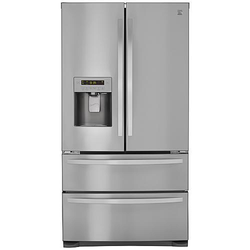 Kenmore 72495  26.7 cu. ft. 4-Door French Door Refrigerator w/Dual Freezer Drawers