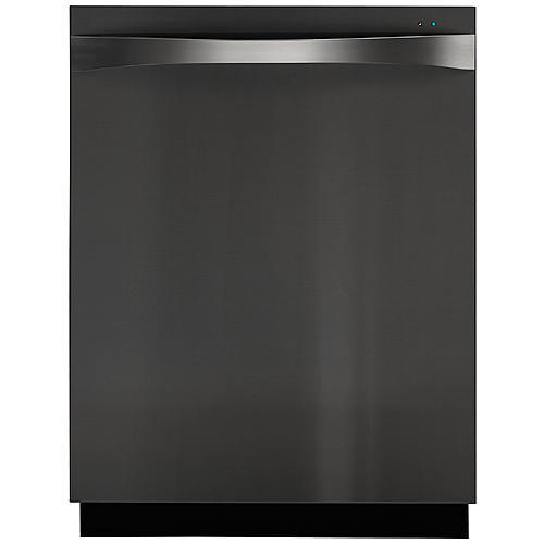 "Kenmore Elite 14697  24"" Fully-Integrated Dishwasher - Black Stainless"