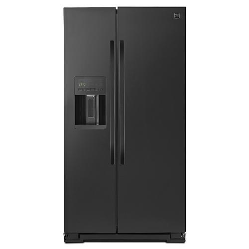 Kenmore 51139  26 cu. ft. Side-by-Side Refrigerator - Black