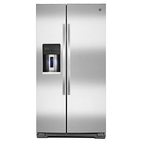 Kenmore 51135 26 cu. ft. Side-by-Side Refrigerator - Fingerprint Resistant Stainless Steel