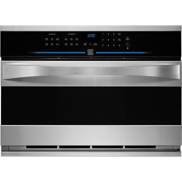 """Kenmore Elite 48893  27"""" Built-in Convection Microwave - Stainless Steel"""