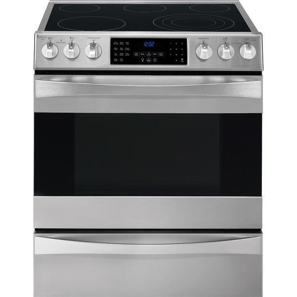 Kenmore Elite 41313  4.6 cu. ft. Self-Clean Electric Dual True Convection Range - Stainless Steel