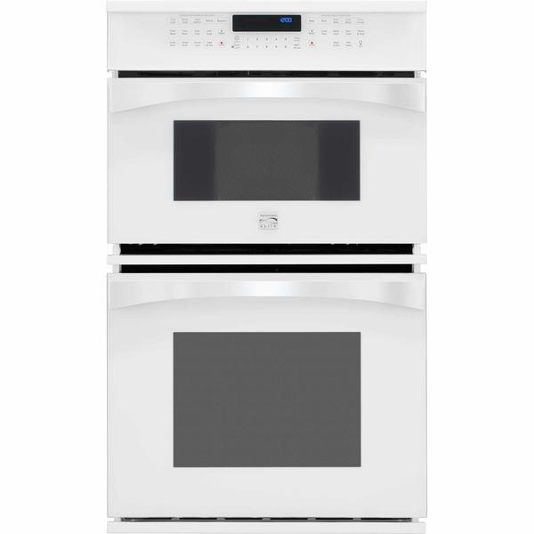 "Kenmore Elite 48912  27"" Electric Combination Oven - White"