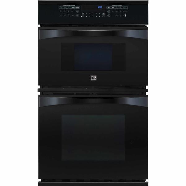 "Kenmore Elite 48919  27"" Electric Combination Oven - Black"