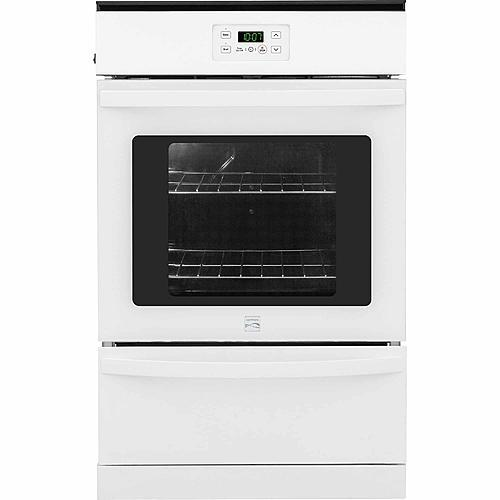 "Kenmore 40292  24"" Manual Clean Gas Wall Oven - White"