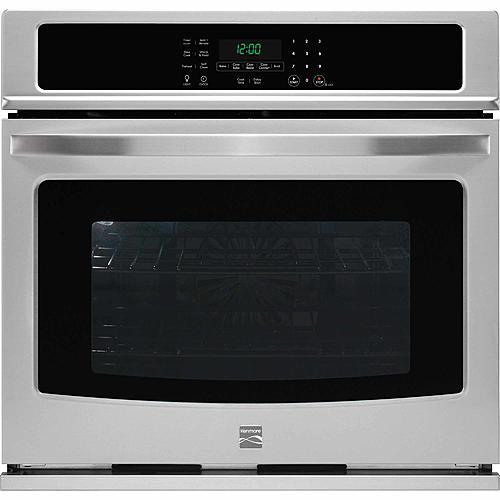 """Kenmore 49503  27"""" Electric Self-Clean Single Wall Oven /w Convection - Stainless Steel"""