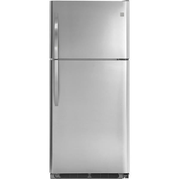 Kenmore 70643  20.4 cu. ft. Top-Freezer Refrigerator w/Ice Maker – Stainless Steel