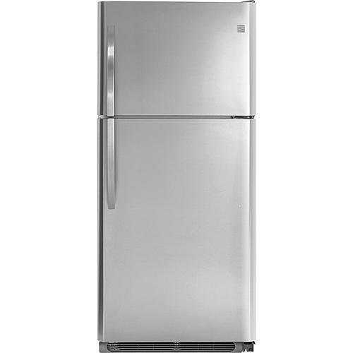 Kenmore 60643  20.4 cu. ft. Top-Freezer Refrigerator – Stainless Steel